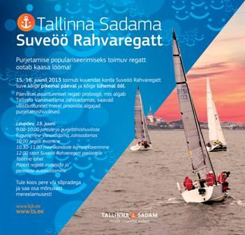 Tallinna Sadama Suve�� Rahvaregatt 2013