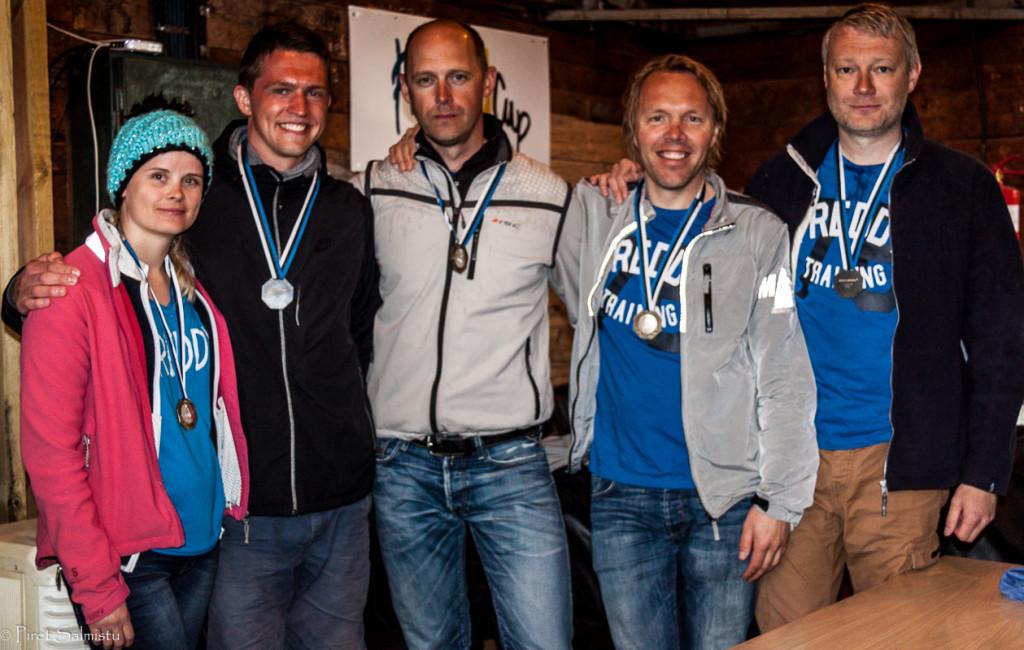 Melges 24 2015.a Eesti MV hõbe Freddy EST826 - Ants Haavel, Lauri Kärner, Martin Müür, Siim Ots, Triin Sarapuu - foto: Piret Salmistu