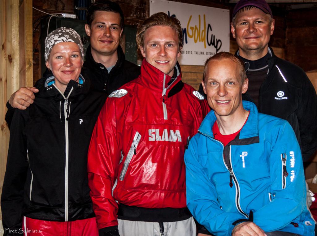 Fundanything.com FIN742 - Tomi Hakola, Pyry Itkanen, Jonathan Barck, Nora Eskola ja Anssi Sallinen - foto: Piret Salmistu