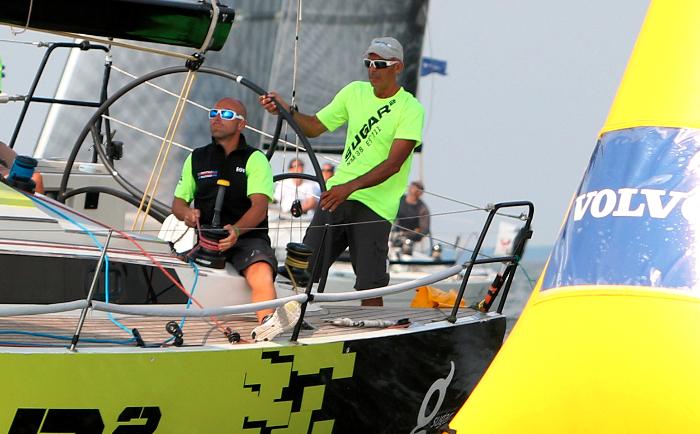 Sandro Montefusco  Sugar 2 EST711 roolis, tema kõrval vend Paolo Montesfusco taktikuna - foto Max Ranchi