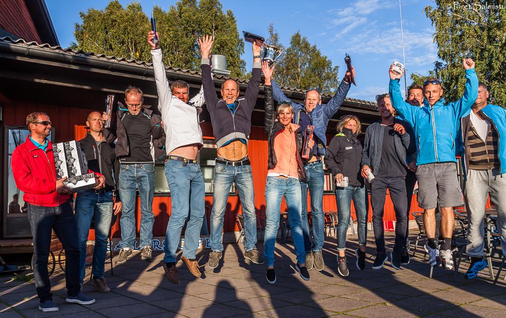 Võidukas Melges 24 Soome MV esikolmik - foto Piret Salmistu