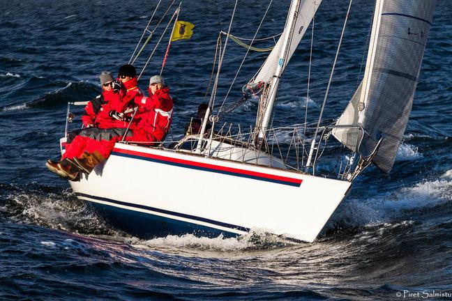 ORC III grupi võija jaht Viru, roolis Indrek Pikk - foto Piret Salmistu