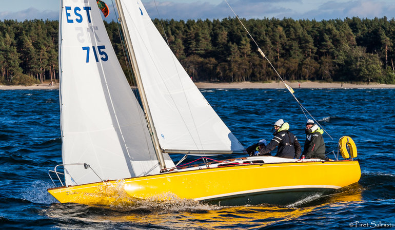 FRIDA EST715, Kalev Jahtklubi, kapten Andres Kõnd Foto: Piret Salmistu