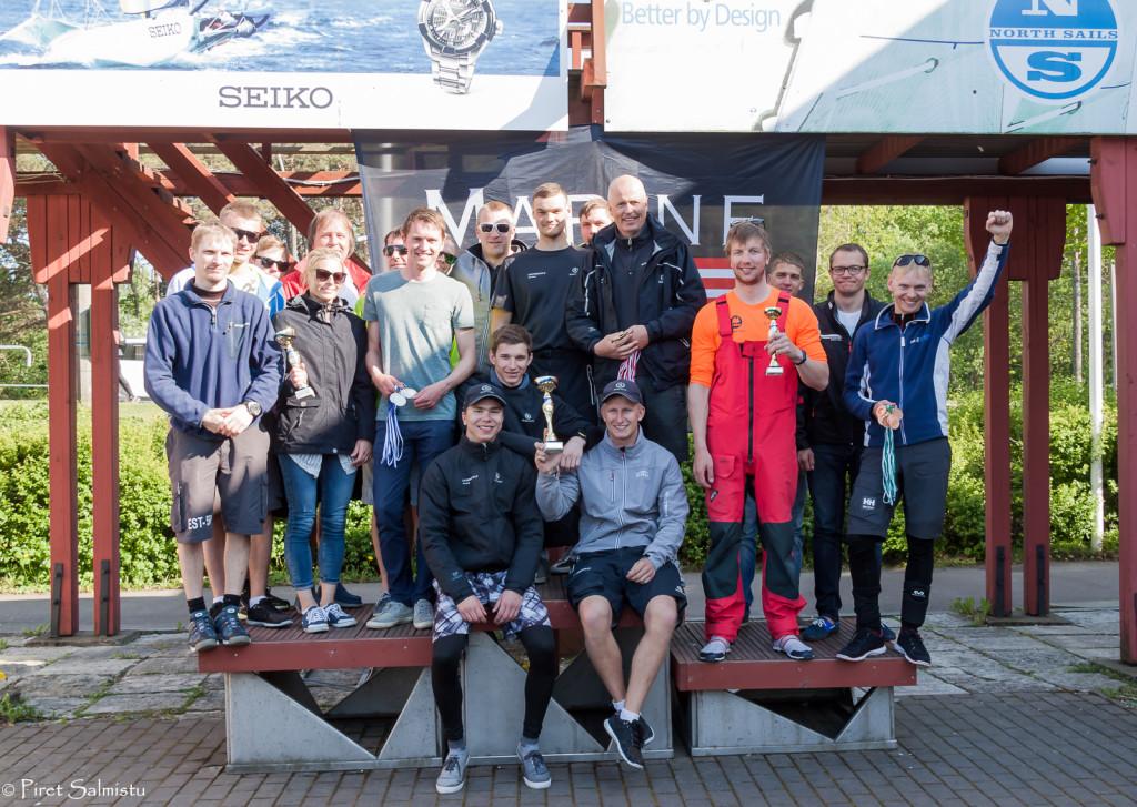 ORC grupi esikolmik - E4 karikavõistlus Seiko Cup 2016
