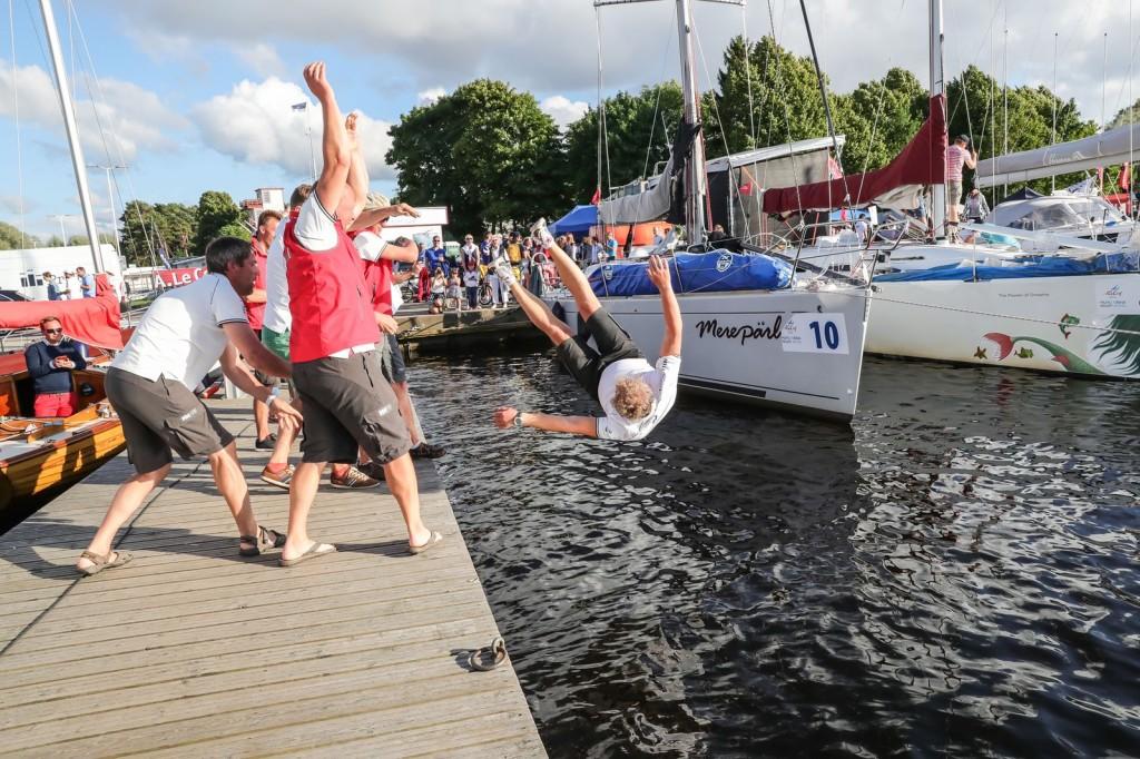 Jahi Merepärl kapten Alari Akermanni võidusuplus - A. Le Coq 59. Muhu Väina regatt 2016 - foto Erlend Štaub/Postimees