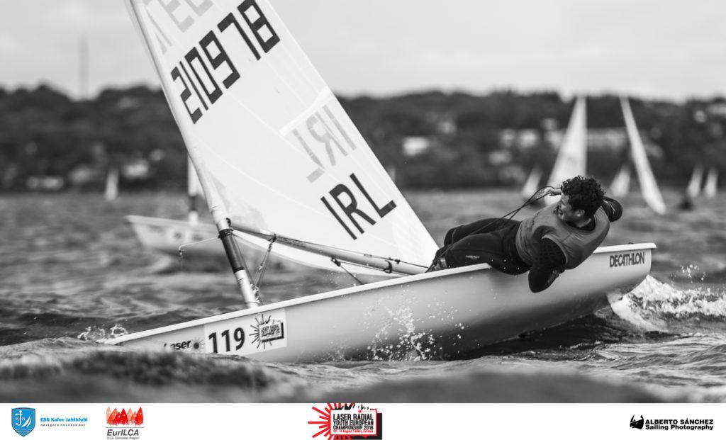 Liam Glynn IRL210978 - Laser Radial Noorte Euroopa Meistrivõistlused 2016 - 11.08.2016 - foto Alberto Sanchez