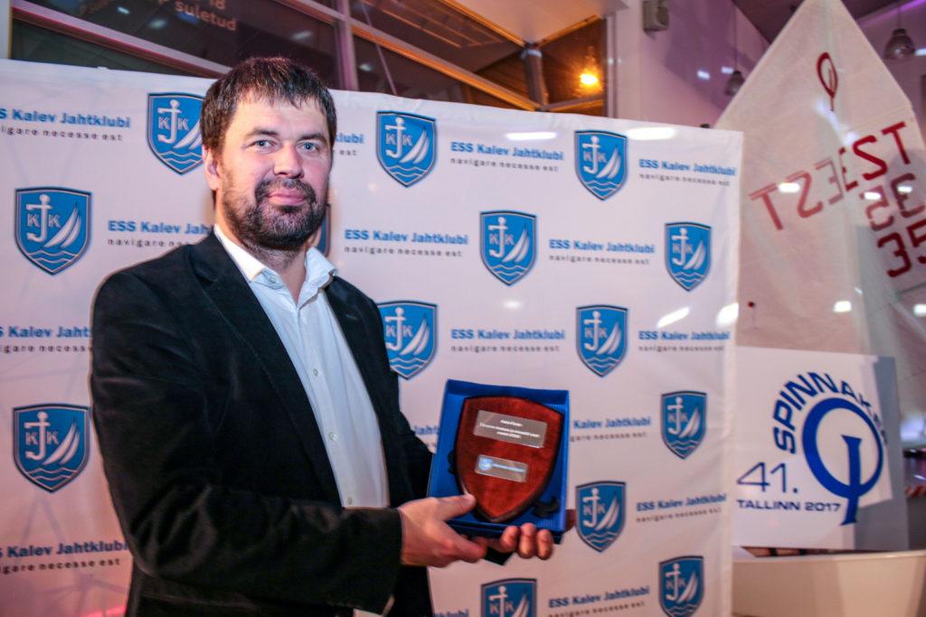 Klubi on äärmiselt tänulik nii suurte kui ka väiksemate ettevõtete ja eraisikute toetusele nii klubi tegemistele kui ka suuremate sündmuste õnnestumisel. Pildil Auto Forte juhatuse esimees Raido Toonekurg. Foto Berit Hainoja.