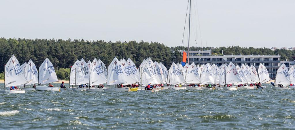 Pirital algas rekordarvu noorte purjetajate osavõtul 41. Spinnakeri regatt - foto: Aleksandr Abrosimov
