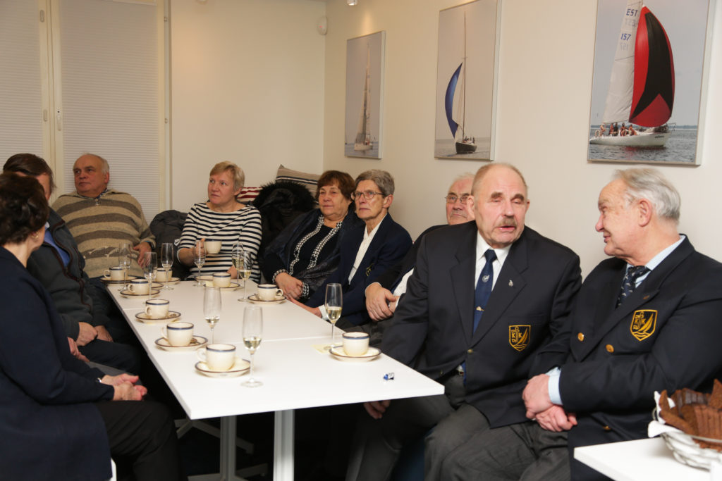 Klubi veteranid, kes klubi vaimu ja järjepidevust kandes ikka kord kuus klubis pannkoogipärastlõunatel kokku saavad - foto Tiit Aunaste