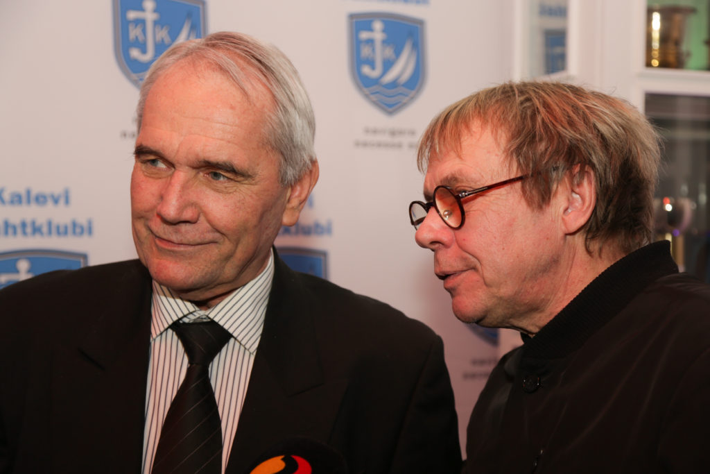 Jääpurjetamisest kõneles 1984.a DN klassi maailmameister Tiit Haagma, Jaanus Nõgisto tuli aga Optimistil Nõukogude Liidu juunioride meistriks 1969.a. - foto Tiit Aunaste