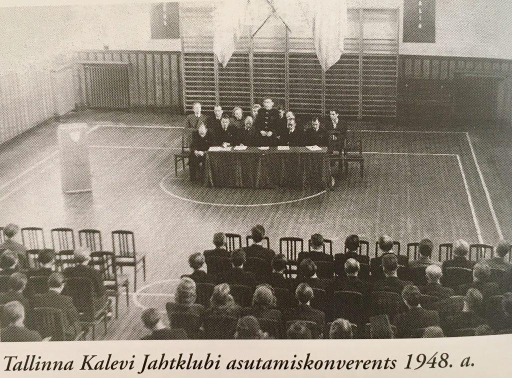 Kalevi Jahtklubi asutamiskonverents 1948.a.