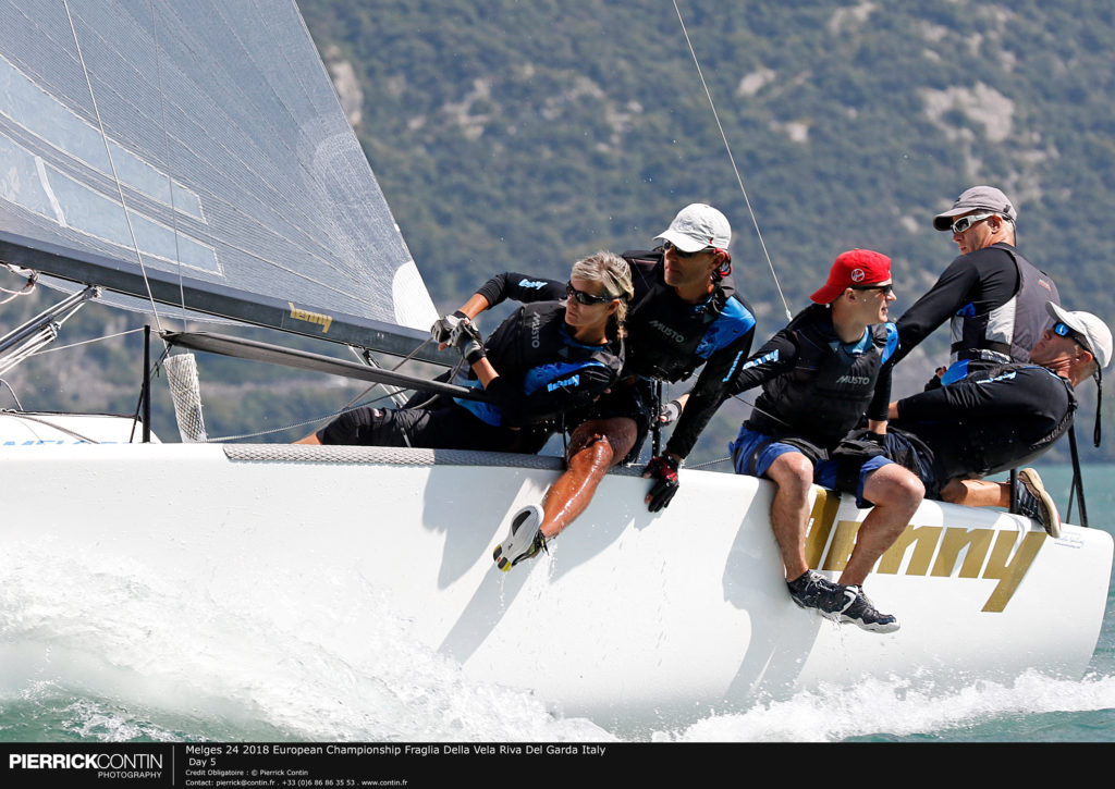Melges 24 European Championship 2018 - Fraglia Vela Riva, Riva del Garda, Italy - Foto Pierrick Contin